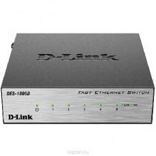 D-LINK DES-1005D/O2B коммутатор Ethernet