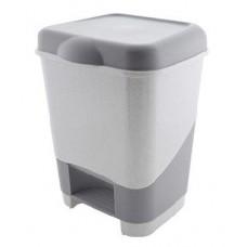 ПОЛИМЕРБЫТ Контейнер педальный для мусора 20л (42800) (2)