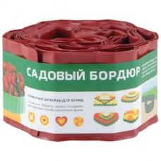 PARK бордюр для газонов, грядок h 10см (256007) красный
