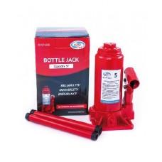 AUTOVIRAZH AV-074205 Домкрат гидравлический 5 т бутылочный в коробке (красный)