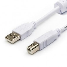 ATCOM (АТ0109) кабель USB 2.0 AM/BM - 5.0 м (для переферии 1 FERITE) (5)