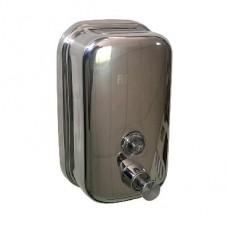 BRIMIX 618 Дозатор жидкого мыла настенный металический с глазком (2)