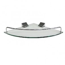 BRIMIX 10101 Полка стеклянная угловая