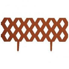 PARK Ромб забор декор. терракотовый 1,2м х 0,31см (999141) (20)