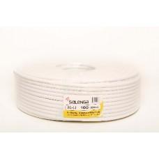 SELENGA RG6 PVC 100 м. белый