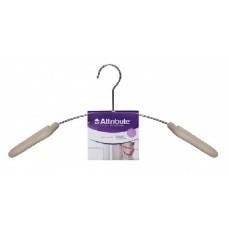 ATTRIBUTE AHM561 Вешалка для верхней одежды EVA CREME 45см (5)