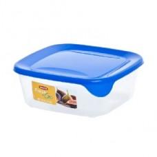 CURVER 00559-139-01 Контейнер для СВЧ FRESH&GO 0.8л голубой квадратный (6)