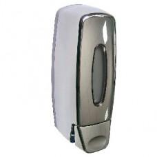 BRIMIX 619 Дозатор жидкого мыла настенный пластиковый, хромированный, -400 мл