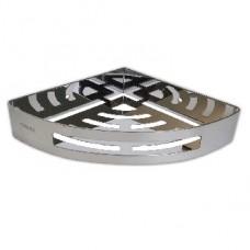 BRIMIX 5657 Полочка литая угловая одинарная из нержавеющей стали