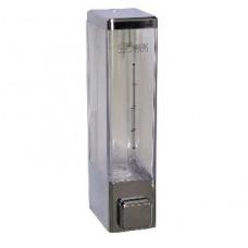 GFMARK 623 Дозатор жидкого мыла пластиковый хромированный квадратный-250 мл (3)