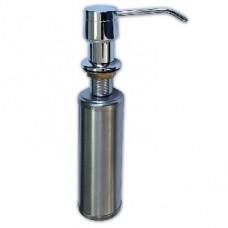 GFMARK 627 Дозатор жидкого мыла Врезной под раковину хромированный 250 мл из нержавеющей стали