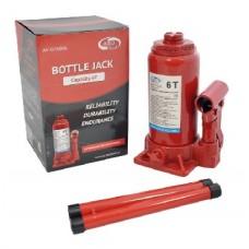 AUTOVIRAZH (AV-076006) Домкрат гидравлический 6 т бутылочный в коробке (красный)