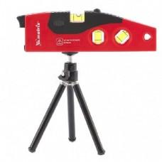 MATRIX Уровень лазерный, 180 мм, 220 мм штатив, 4 глазка 35022