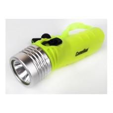 CAMELION LED51534 (фонарь, желт, LED 3W SEOUL глуб 30м, 4XLR6, дайв, пласт+алюм.)