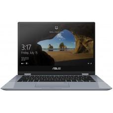ASUS VivoBook Flip TP412FA i3-8145U 4Gb SSD 128Gb Intel UHD Graphics 620 14 FHD IPS TS BT Win10 Серебристый TP412FA-EC260T 90NB0N32-M06100 Сенсорный