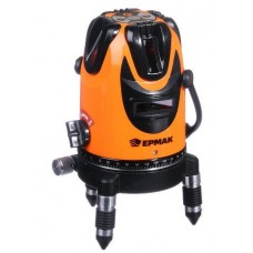 ЕРМАК 659-141 Уровень лазерный 3 луча, 15м, кейс