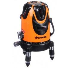 ЕРМАК 659-142 Уровень лазерный 5 лучей, 15м, кейс