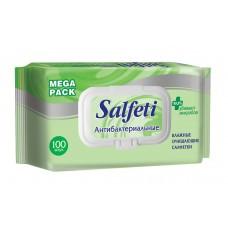 SMART SALFETI 100шт. MEGA PACK с пластиковым клапаном Влажные салфетки антибактериальные