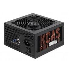 AEROCOOL KCAS PLUS 800, 800Вт, 120мм, черный, retail kcas-800w plus