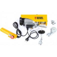 DENZEL 52011 Тельфер электрический TF-250, 0,25 т, 540 Вт, высота 12 м, 10 м/мин