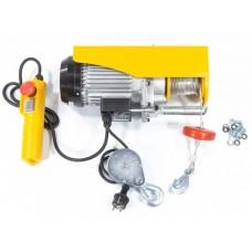 DENZEL 52012 Тельфер электрический TF-500, 0,5 т, 1020 Вт, высота 12 м, 10 м/мин