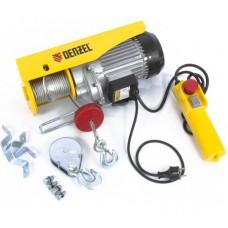 DENZEL 52014 Тельфер электрический TF-800, 0,8 т, 1300 Вт, высота 12 м, 8 м/мин/