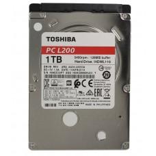 TOSHIBA L200 Slim HDWL110UZSVA, 1ТБ, HDD, SATA III, 2.5