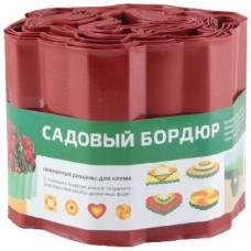 PARK бордюр для газонов, грядок h 15см (256009) красный